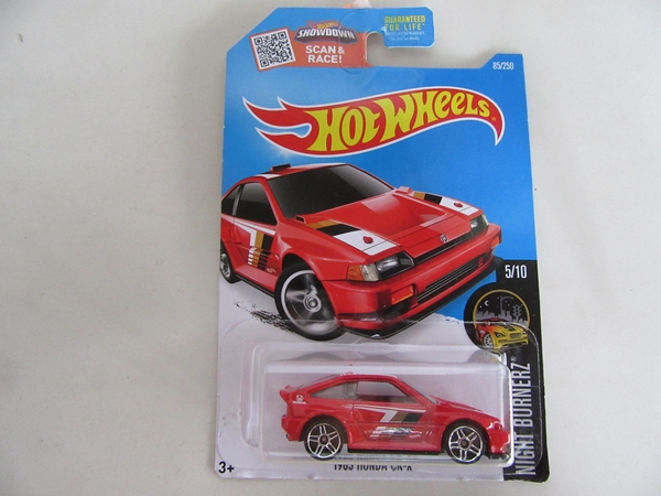 1985 HONDA CR-X RED 1/64