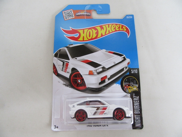 1985 HONDA CR-X WHITE 1/64