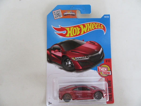 17 ACURA NSX RED