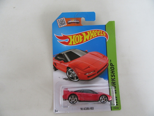 90 ACURA NSX RED