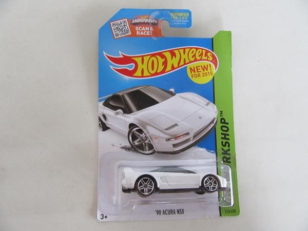 90 ACURA NSX WHITE