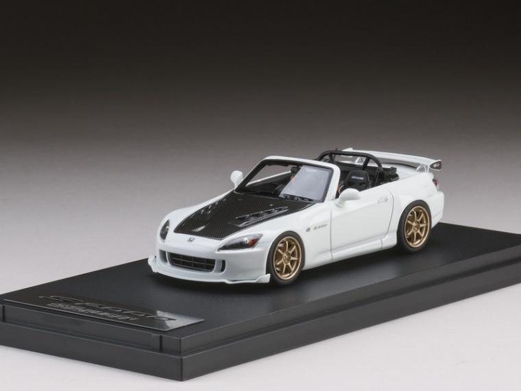 ホンダ S2000 (AP2) ホワイト 1/43