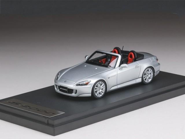 ホンダ S2000 (AP1) 2003  シルバー(ブラック/レッドインテリア) 1/43