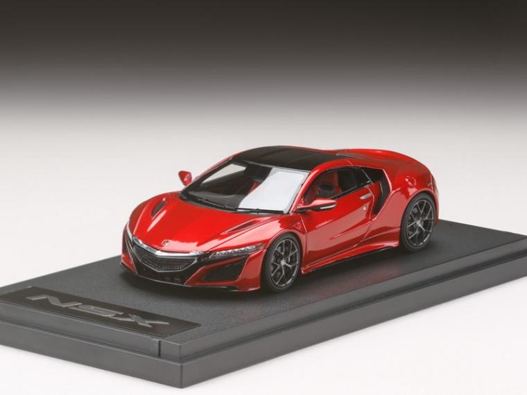 ホンダ NSX 国際自動車ショー 2015 レッドメタリック