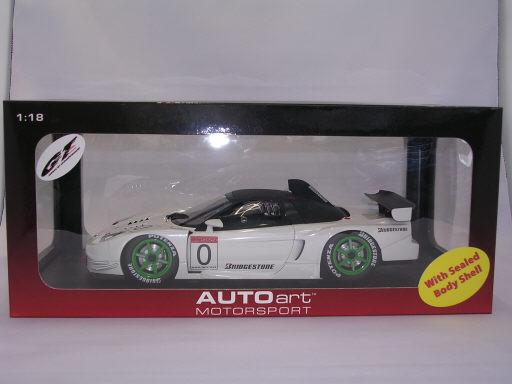 ホンダ NSXテストカー JGTC2003 1/18