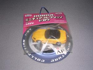 ホンダ S2000 イエロー 1/87