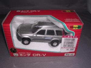 ホンダ CR-V 1/40 シルバー セガ・アガツマ