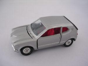 Honda Z シルバー 1/38