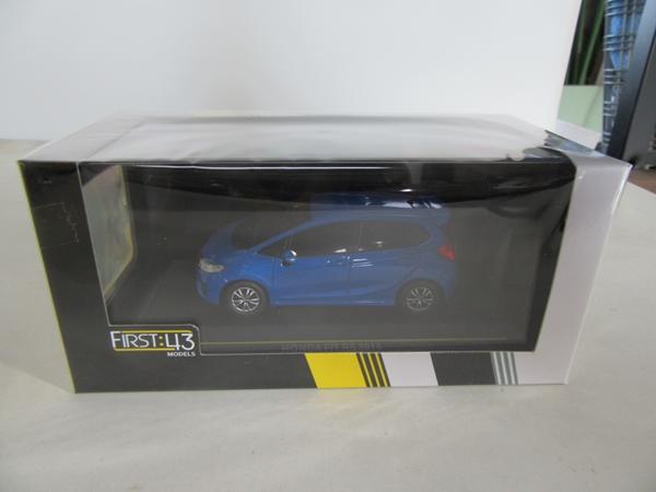 ホンダ フィット RS 2014 ブルー 1/43
