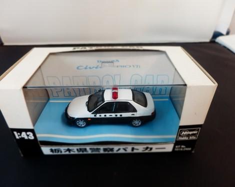 シビックフェリオ VTi 栃木県警察パトカー
