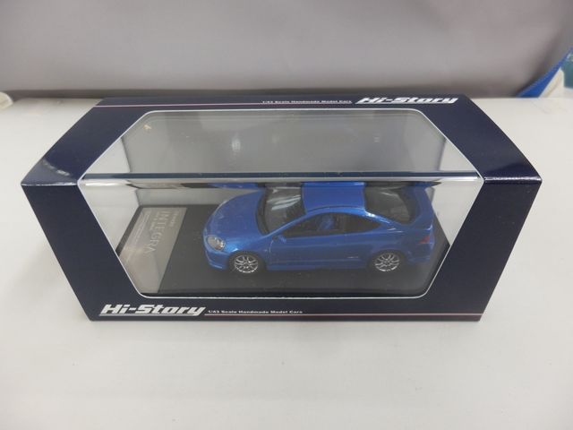 インテグラ タイプR 2004 1/43 ブルー
