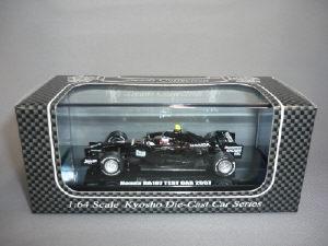ホンダ RA107 ブラックテストカー 2007 クリエン 1/64