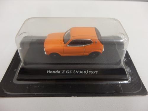 ホンダ Z GS(N360) 1971 オレンジ 1/64