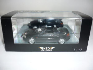 ホンダ CR-X デルソル ブラック 1/43