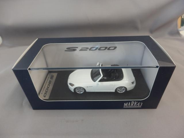 S2000 (API) 1/43 グランプリホワイト