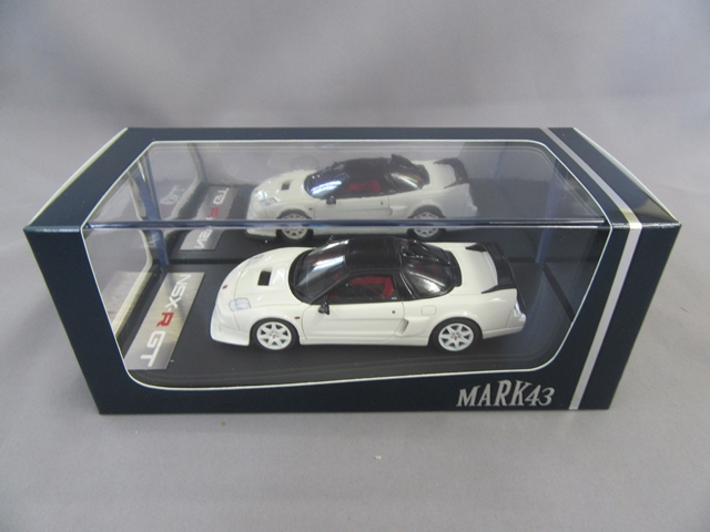 ホンダ NSX-R GT チャンピオンシップホワイト 1/43