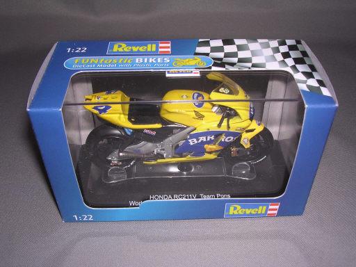 'HONDA RC211V Team Pons World Championship 2006 Barros 1/22