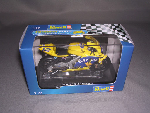 'HONDA RC211V Team Pons World Championship 2005 Bayliss 1/22