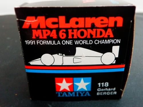 マクラーレンホンダ MP4/6 1991 ベルガー 1/43