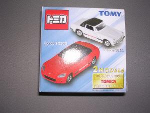 トミカイベントモデル 2台セット NO.1 ホンダS800&S2000