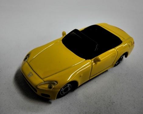 ホンダ S2000 イエロー 1/75 Part.1