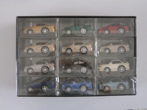 プルバックカー アコード 11cm 12台セット