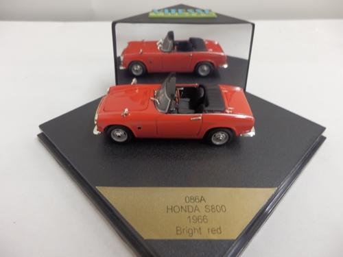 ホンダ S800 オープン レッド 1966 1/43