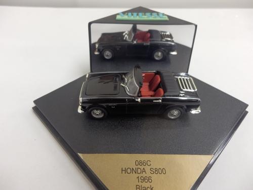 ホンダ S800 オープン ブラック 1966 1/43