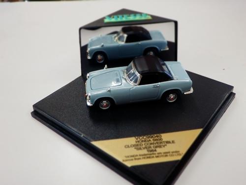 ホンダ S800 コンバーチブル シルバーグレー 1964 1/43