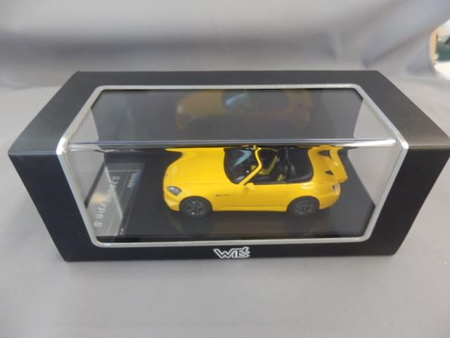 S2000 TypeS 1/43 ニューインディイエロー