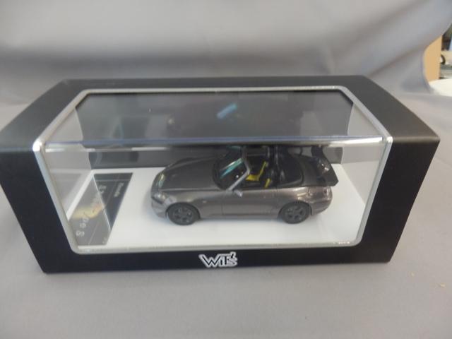 S2000 TypeS 1/43 ムーンロックメタリック