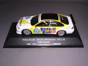 ホンダ アコード ブルックス モータースポーツ BTCC 98